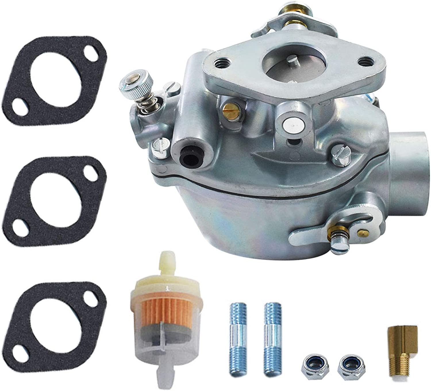352376R92 Carburetor w/Gaskets Replacement for IH-Farmall Tractor A AV B BN C Super A Super C Replacement for Marvel Schebler TSX156 TSX157 TSX319 Carb: Automotive