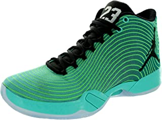 Nike Jordan Men's Air Jordan XX9 Rtr/Blck/Rdnt Emrld/Lt Grn Spr Basketball Shoe 11.5 Men US