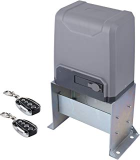 CO-Z Sliding Gate Opener with Wireless Remotes, Roller Gate Opener, Automatic Slide Gate Opener Kit for Fence Driveway, Auto Chain Gate Opener Hardware with Controllers(for 3300lbs Gate)