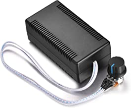 Aweking DC10-50V 12V 24V 36V 48V 30A Motor Speed Controller,PWM,Adjustable Driver,Max1000W,Adjustable PWM Frequnecy 240Hz/2.2kHz/22kHz,LED Indicator,with 40cm Cord Switch Potentiometer,Brush Motor