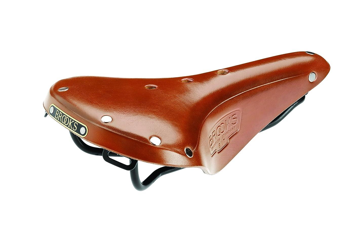 Brooks England B17 Bike Saddle - Handmade Leather Bike Seat (Steel, Titanium, Copper)
