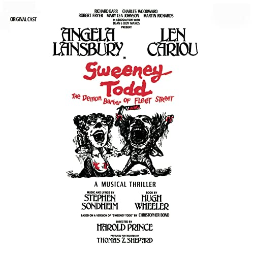 The Ballad Of Sweeney Todd Attend The Tale Of Sweeney Todd By Sweeney Todd The Demon Barber Of Fleet Street Original Broadway Cast Ensemble On Amazon Music