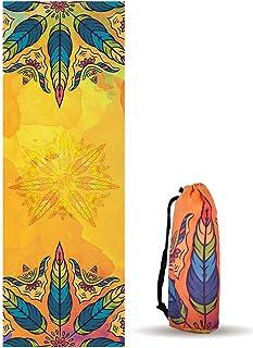 UCEC Hot Yoga Towel, Yoga Mat Towel with Travel Bag, Non-Slip, Ultra Soft & Sweat Absorbing for Hot Yoga, Bikram, Pilates ...