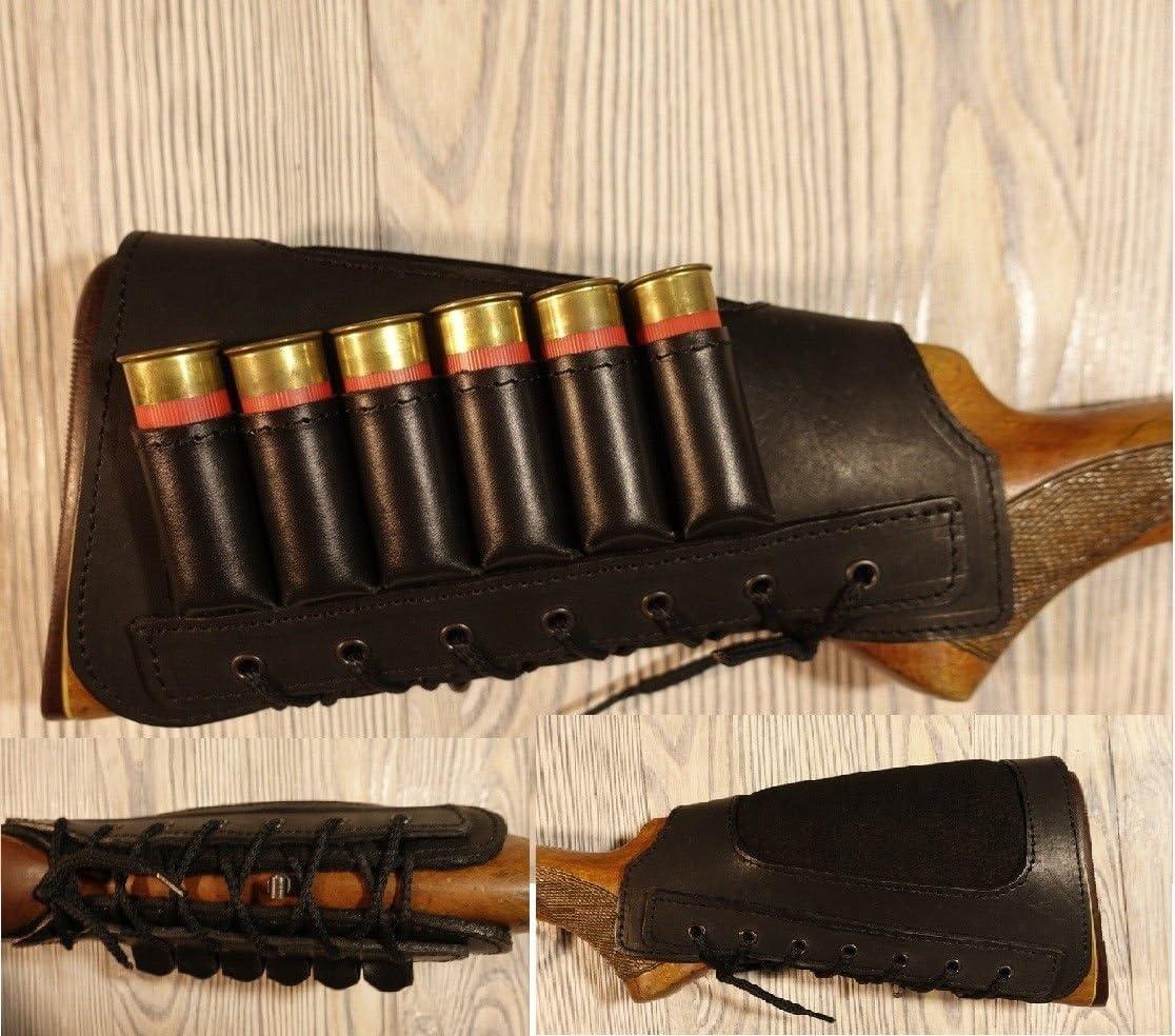 Details about  /Shotgun Butt Stock Ammo Holder Pouch Shell Ammunition Storage Hunting Buttstock