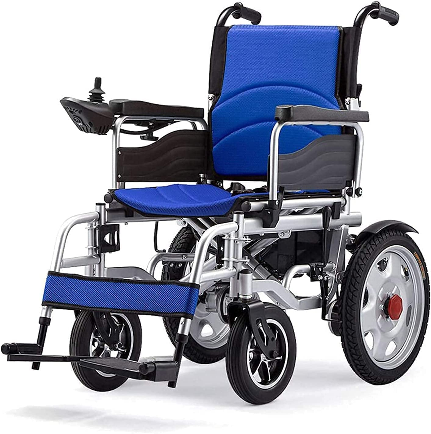 New York Mall Electric Wheelchair Breathable Backrest NEW before selling Foldable Lightweight Aut
