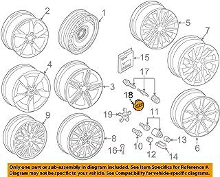Genuine 21 Alloy Wheel Center Hub Black Glossy Cap 1pcs AUDI 8T0601170AAX1