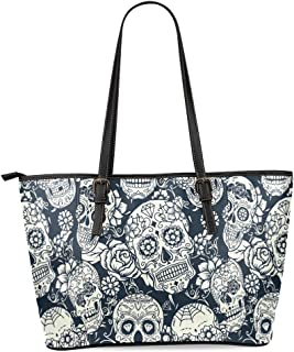 day of the dead messenger bag