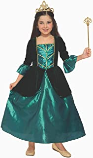 Forum Novelties Girl's Princess Evergreen Costume Dress, Green, Small