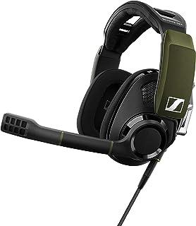 GSP 550 by EPOS | Sennheiser 7.1 Surround Sound Gaming Headset, Black/Green (507262)