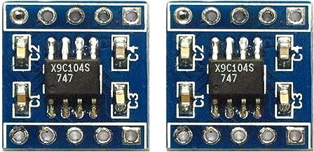 2pcs X9c104 Digital Potentiometer Module 100th Order Digital Potentiometer Adjusting Bridge Balance Sensor
