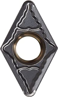 Sandvik Coromant CoroTurn 107 Carbide Turning Insert, DCMT, 55 Degree Diamond, PM Chipbreaker, GC1515 Grade, Multi-Layer Coating, DCMT 3(2.5)2-PM, 3/8
