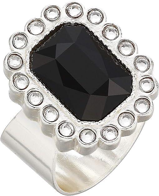 Silver/Black