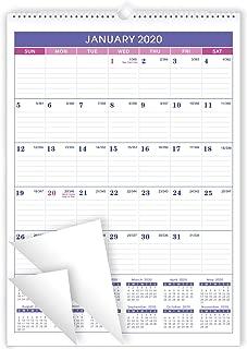 2020 Wall Calendar - 2020 Hanging Wall Calendar Planner, Classical, 12