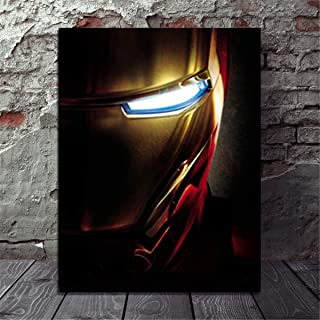DOLUDO Canvas Wall Art HD Pictures Movie Avengers Iron Man Poster Wall Pictures for Living Room Canvas Painting No Frame