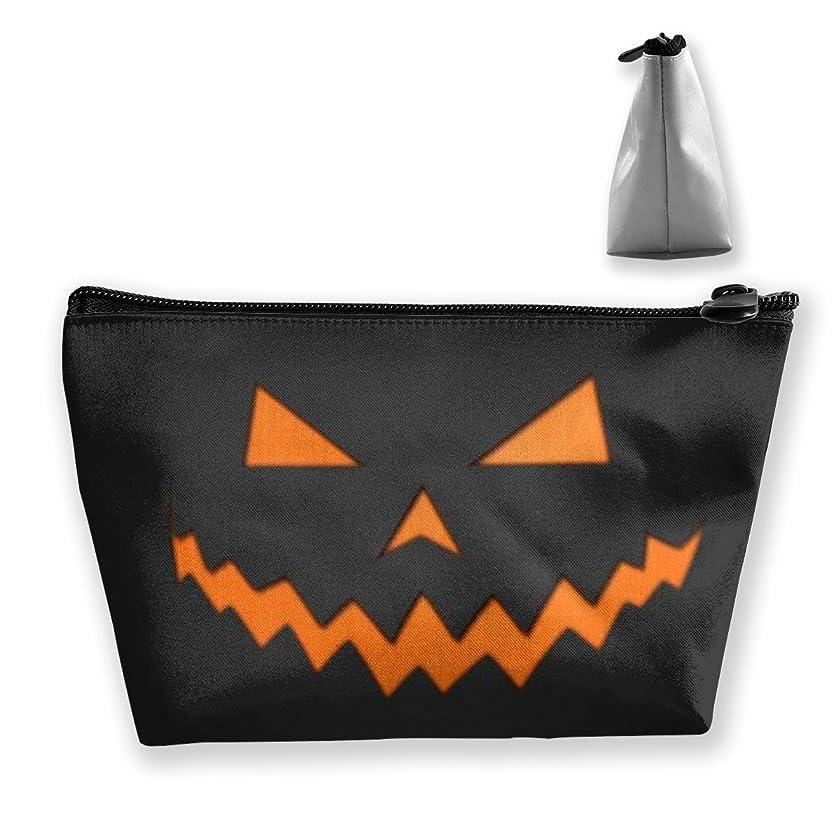 ハッピーハロウィン ペンケース文房具バッグ大容量ペンケース化粧品袋収納袋男の子と女の子多機能浴室シャワーバッグ旅行ポータブルストレージバッグ