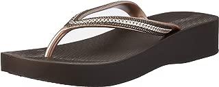 Ipanema Women's Metallic Wedge Slippers