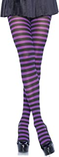 Women's Nylon Striped Tights