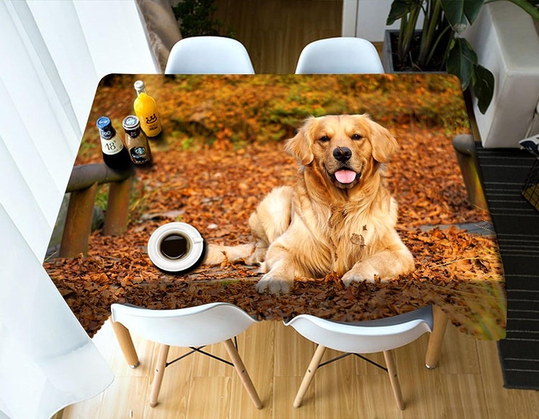LWF Europäische Tischdecke Rechteckige Tischdecke - 3D personalisierte Tischdecke PG009 - umweltfreundlich und geschmacklos - Digitaldruck wasserdicht (größe   Rectangular -152cmx259cm) B07D5YKGC9 Neue Produkte im Jahr 2019  | Kaufen Sie b