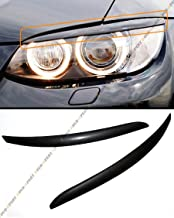 Cuztom Tuning ABS Unpainted Primered Black Headlight Eye Lid Cover Eyebrows for 2007-13 BMW E92 Coupe & E92 E93 M3
