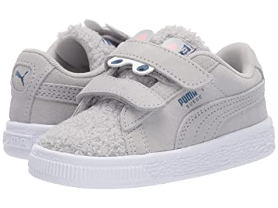 Puma Kids Suede Winter Monster V (Toddler) (High-Rise/Galaxy Blue) Girls Shoes