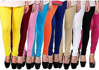 Zakod Latest Collection Leggings For Women For Casual Wear,Free Size Leggings(Combo Of Ten)