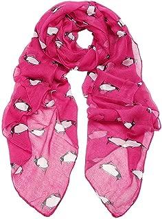 Binmer(TM) Women Lady Scarf Shawl Penguin Print Voile Scarves Girls Gift