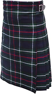 AAR Brand New Scottish Mackenzie Tartan Traditional Kilt with Buckle KILT 34