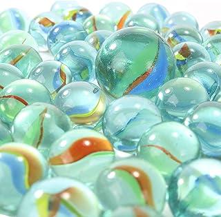 30PCS 14MM Ucradle Bunte Glasmurmeln Murmeln Dekomurmeln f/ür Kinder verwendet f/ür Aquarium Marmorlauf Hauptdekoration