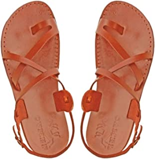 ab312bafe9d8ab Jesus Sandals for Men in Leather-Made in Bethlehem