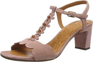 Sandal in Pink Suede, Womens.