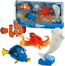 Bullyland Disney Pixar Finding Dory Figura 4Pack–Nemo, Dory, Lou & Bailey
