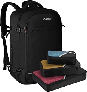 Travel Backpack 40L Flight Approved Carrying Backpack Weekend Backpack Large Backpack Backpack with 3 Cubes