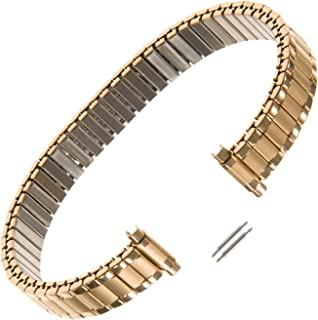 Ladies Expansion 9-13mm Extra-Long Stainless Steel Watch Band 124