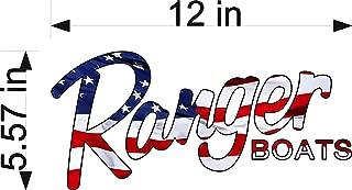 Ranger Boats America Logo Decal 6x12