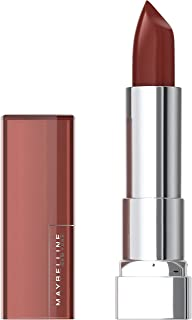 Maybelline Color Sensational Lipstick, Lip Makeup, Cream Finish, Hydrating Lipstick, Nude, Pink, Red, Plum Lip Color, Double Shot, 0.15 oz. (Packaging May Vary)