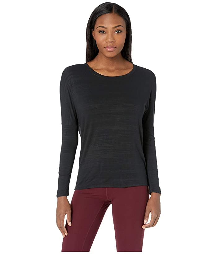 SKECHERS Performance Reformer Long Sleeve Top (Black) Women
