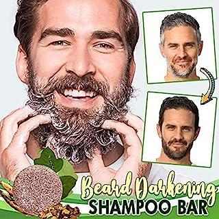NIVNI Shampoo, Beard Darkening Shampoo Bar Beard Wash Bar Ha