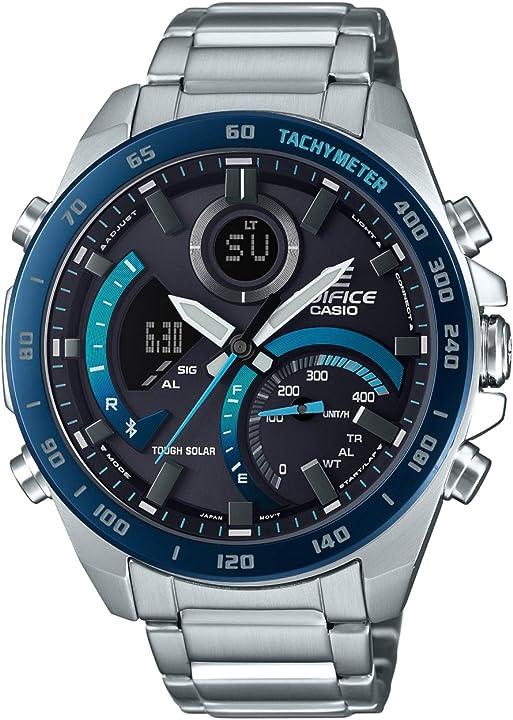 Orologio casio analogico-digitale ecb-900db-1ber