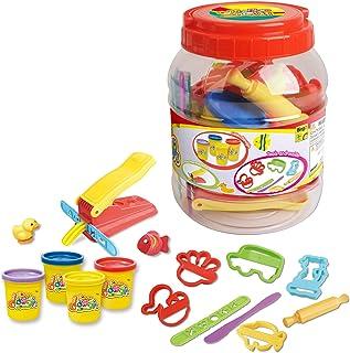 Bingo Dough Tools and Molds Jumbo Bucket - Multi Color