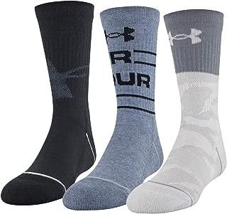 Phenom Crew Socks, 3-Pair
