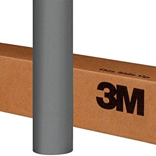 3M 1080 M230 MATTE GRAY ALUMINUM 5ft x 1ft (5 Sq/ft) Car Wrap Vinyl Film