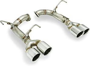 REMARK 304 Stainless Axleback Exhaust, Double Wall Tips : Subaru WRX STi 2015+ (Stainless Double Wall)