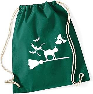 Hippowarehouse Halloween bat Gymwear Gym Duffle Cylinder Uniform Kit Bag 50 x 25 x 25cm 20 litres