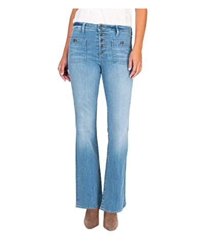 KUT from the Kloth Stella High-Rise Flare in Patient (Patient) Women