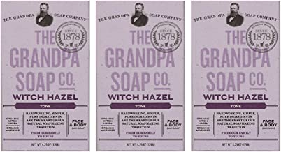 witch hazel in soap
