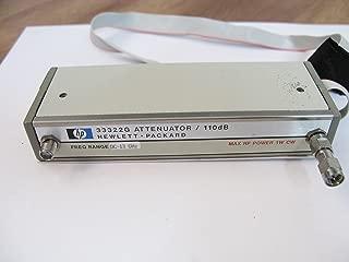 HP Agilent 33322G RF Programmable Step attenuator / 110dB / dc-13 GHz / OPT 016,H89