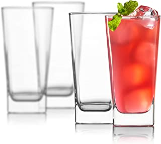 Best drinking glasses square bottom round top Reviews