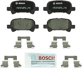 مجموعه لنت ترمز دیسک نیمه فلزی Bosch BP828 QuietCast Premium برای تویوتا: 2000-2007 Avalon ، 2000-2006 Camry ، 2000-08 Solara؛ عقب