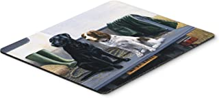 Caroline's Treasures BDBA0341MP On The Tailgate Labrador and Springer Spaniel Mouse Pad, Hot Pad or Trivet, Large, Multicolor