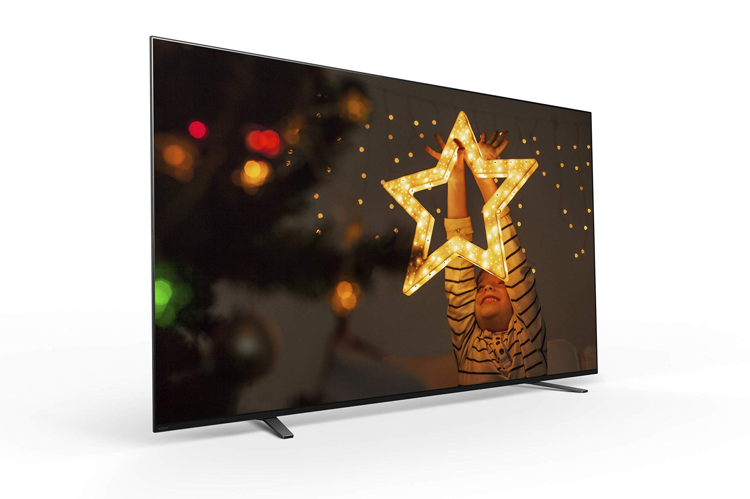 Sony A8H 65-inch TV: BRAVIA OLED 4K Ultra HD Smart TV with HDR and Alexa Compatibility - 2020 Model